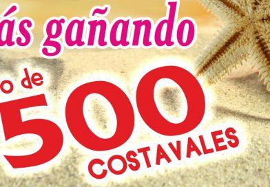 Campaña verán 2015: Sorteo de 1.500 Costavales